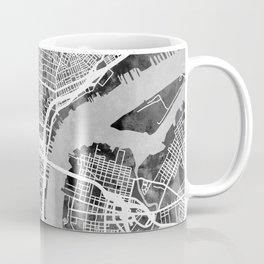 Philadelphia Pennsylvania Street Map Coffee Mug