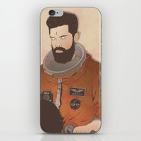western iPhone & iPod Skins featuring Western Mandela by Lazy Trope