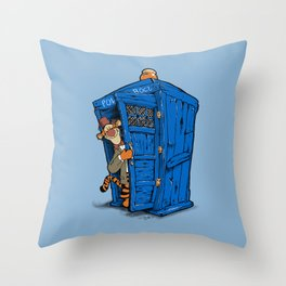 It's B-I-Double g-ER on the Inside Throw Pillow