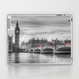 Westminster Bridge and Big Ben Laptop & iPad Skin
