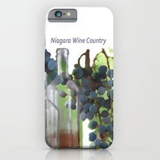 niagara wine country / grapes  / digital painting iPhone 6s Slim Case