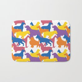 Dog Pattern 2 Bath Mat