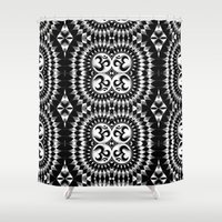 om Shower Curtains featuring Om by MandalaHealingArt