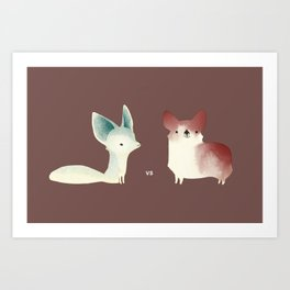 vs Art Print