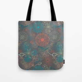 Grey Dreams Tote Bag