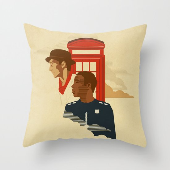 Spacetime Throw Pillow