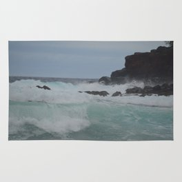Waves at Lahaina Rug
