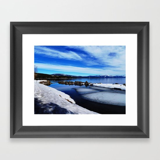 Tahoe City Framed Art Print