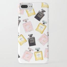 Classic Parfum Pattern iPhone Case