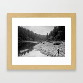Jedidiah Smith River Framed Art Print