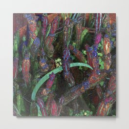 Forego the momentary irrational random toggle itch Metal Print