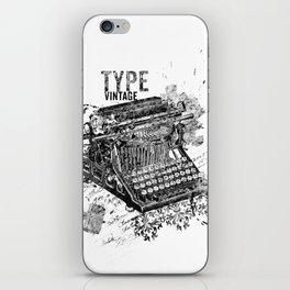 Vintage Typewriter - Type Vintage iPhone Skin