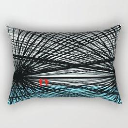 Step in Line Rectangular Pillow