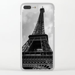 Eiffel Tower XII Clear iPhone Case