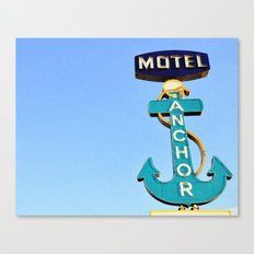 Anchor Motel Canvas Print