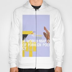 A World Map of Foreign Policy (book jacket cover) Hoody