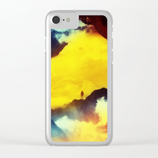 This volcano is mine Clear iPhone Case