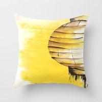 lantern Throw Pillows featuring Lantern by Emma Stein