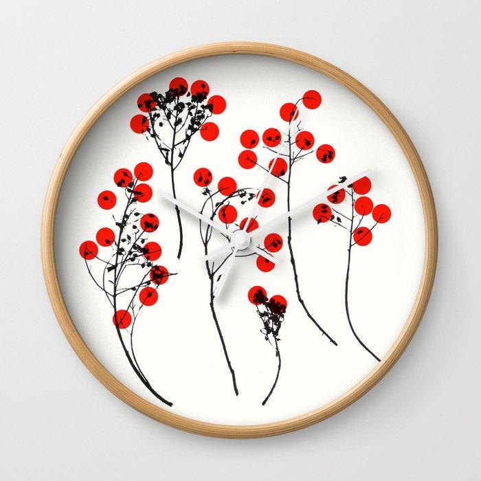 love 1 Wall Clock