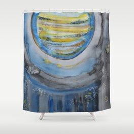 Jupiter Rising Shower Curtain