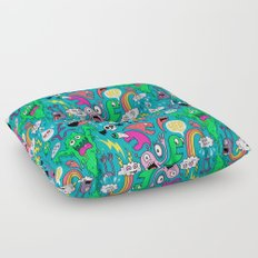 Monster Party Floor Pillow