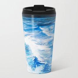 Cartografias del Agua Metal Travel Mug