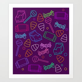 Perfect friday night #3 Art Print