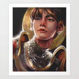 Knight Taehyung Art Print