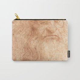 Classic Art - Leonardo da Vinci by Leonardo da Vinci Carry-All Pouch