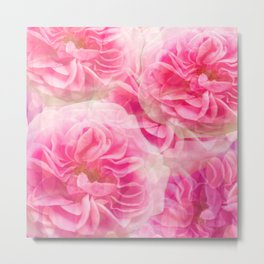 Roses In Pink Tones #decor #society6 #buyart Metal Print