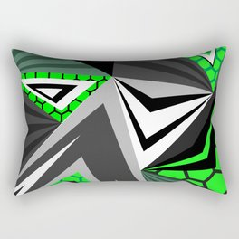 Mech Alien Rectangular Pillow