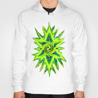 rasta Hoodies featuring RASTA STAR by EclecticArtistACS