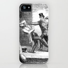 Victorian Bullet Time. iPhone Case