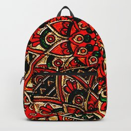 Mandala Art Backpack