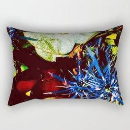 Natures Wildflower Rectangular Pillow
