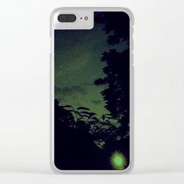 Lo-Fi Sunset Clear iPhone Case