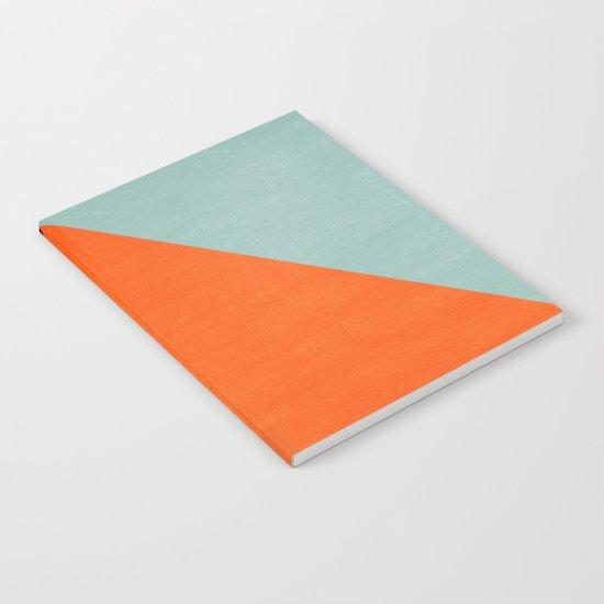 mod triangles - autumn Notebook