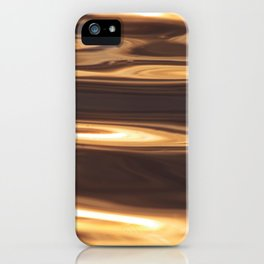 Water Sunset Pattern iPhone Case