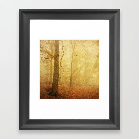 November I Framed Art Print