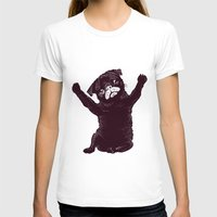 hug T-shirts featuring Hug by Huebucket