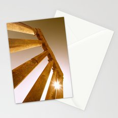 Ancient Roman Columns Stationery Cards