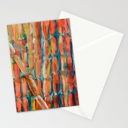 Coral Night of Sugarcane Stationery Cards