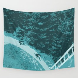 Two bikers Wall Tapestry