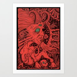 Animal Me Art Print