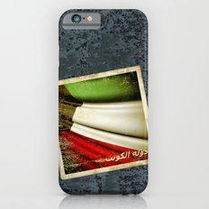 Grunge sticker of Kuwait flag Slim Case iPhone 6s