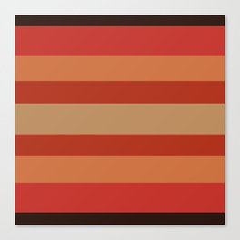 Earthy Terracotta - Color Therapy Canvas Print