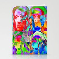 picasso Stationery Cards featuring Pop Picasso by Ganech joe