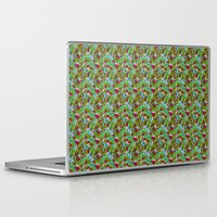 hiking Laptop & iPad Skins featuring Hiking Tune by Bob Greenwade