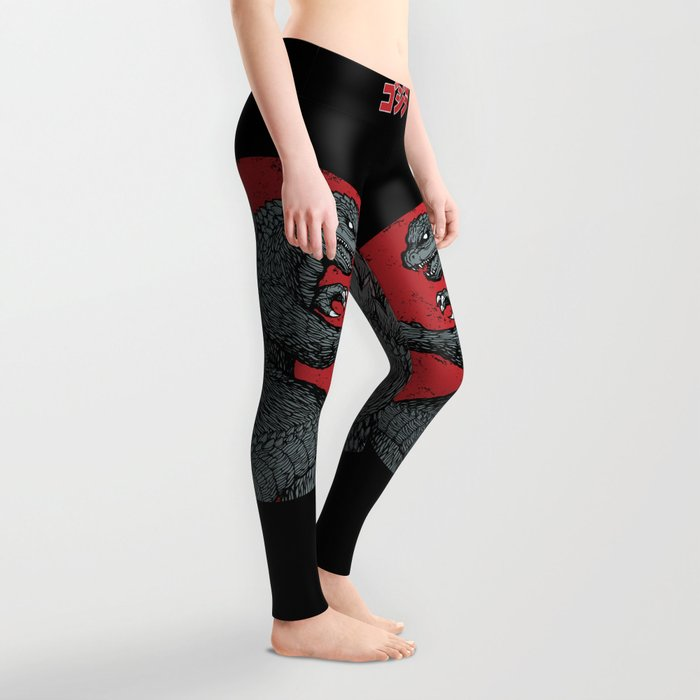Gojira Kaiju Alpha Leggings