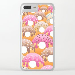 Donuts Wanderlust Clear iPhone Case